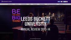 Annual Review 2013-14, Leeds Beckett University