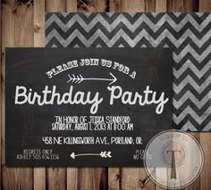 The glamorous Adult Birthday Invitations Free Outstanding Appearance Of 70th Birthday Parties, 50th Birthday Party, Birthday Party Invitations, Happy Birthday, Unique Invitations, Invitation Card Design, Invitation Wording, Birthday Chalkboard, Create