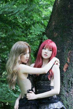 Nine Muses Hyemi & Keumjo