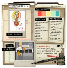 Layers of ink: Breathe Watercolour Layout