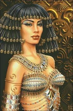 Cleopatra was a famous queen of Egypt known for her love affairs and Mark Anthony, her lover. Description from pinterest.com. I searched for this on bing.com/images