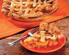 """PEACH PIE RECIPE: ~ From: """"Penzeys Spices.Com"""". ~ Recipe Courtesy Of: """"PENZEYS SPICES"""" (SPRING CATALOG 2014). ~ Prep.Time: 30 min; Baking Time: 1 hr; Total Time: 1 hr, 30 min; Yield: (8 servings. ** Bob loved making homemade pies from locally grown peaches. He used to freeze them so he could have a taste of summer all year long."""