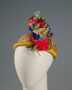 Insouciance in the form of a hat  Sally Victor, 1955   The Metropolitan Museum of Art