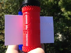 Roll your own business cards with this 3D-printed embosser