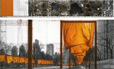 Christo & Jeanne-Claude, The Gates, NYC, 1979-2005