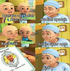 Ideas for memes indonesia upin ipin Funy Memes, Blackpink Memes, Memes Funny Faces, New Memes, Jokes Quotes, Funny Jokes, Text Jokes, Jokes And Riddles, Spongebob Face