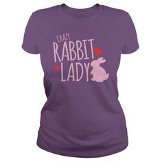 CRAZY #RABBIT #LADY. Not sold in stores. Guaranteed safe and secure checkout via: Paypal | VISA | MASTERCARD | YeahTshirt.com
