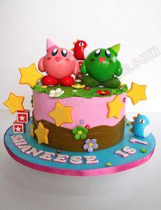 Celebrate with Cake!: Kirby Game Cake