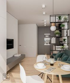 Modern & Youthful: 4 Small Apartments With Fierce Style. Modern & Youthful: 4 Small Apartments With Fierce Style. Small House Interior Design, Small Apartment Design, Condo Design, Small Room Design, Small Apartment Decorating, Small House Interiors, Modern Apartment Decor, Bedroom Apartment, Contemporary Interior