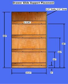 Free Dresser Plans - How to Build A Chest of Drawers Woodworking Software, Woodworking Basics, Woodworking Plans, Woodworking Projects, Diy Dresser Plans, Pallet Dresser, Diy Wood Projects, Furniture Projects, Fun Projects