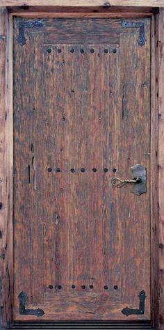 Plank Door - Chateau de Saissac Style 11th Cen France - 2390RG