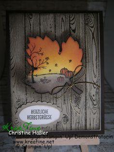 KreaTine: Herzliche Herbstgrüße