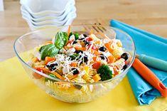 Colorful Summertime Pasta Salad Recipe - Kraft Recipes
