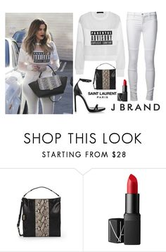 """""""Untitled #2036"""" by fashionista-sweets ❤ liked on Polyvore featuring Alexander Wang, Badgley Mischka and NARS Cosmetics"""