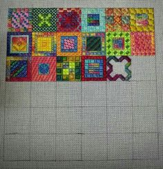 Calypso Squares by Kathy Rees