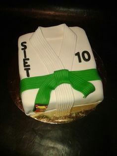 Judo taart