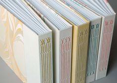 Natalie Stopka long stitch photo albums