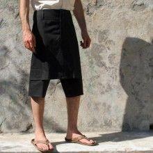 Jupe masculine Hiatus, modèle Sparte. Hiatus Sparte menskirt. Mots-clés : Jupe pour homme, Jupe masculine