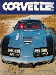 Corvette News Car Magazine August/September 1979 EX-122 Racing Nitrous Vette