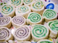 Swirly Sandwiches Recipe - Party food: I am going to make these for Kynzie's party only I am going to do PB & J