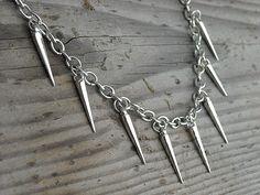 Punk Rock Spike Necklace