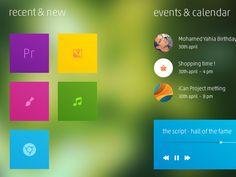 Metro Menu by @crtivo on @dribbble https://dribbble.com/shots/1853647-Metro-Menu #dribbble #ux #ui #design #app #gui