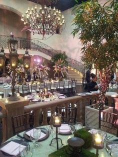 What Table Scape Doesn T Need To Be More Green We Love The Idea