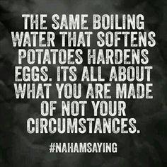 Circumstance vs Ingredients