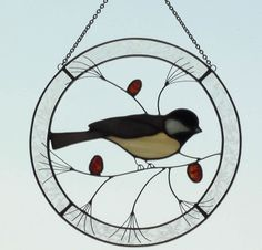 how to make stained glass twirly bird | Stained Glass Art by Julie Bubolz - Imagination Creation - Stained ...