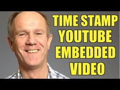 How To Time Stamp A YouTube Embedded Video