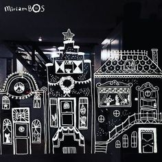 I've been drawing houses on our windows these last two weeks. It's been a veeeery slow process so far because I only draw tiny bits when I have time. And I didn't have much of it lately . But ....bit by bit I am decorating all kitchen windows with this cosy village. It's fun to do. For those of you curious people; I am using chalk markers by Edding. Have a lovely weekend! #eddingchalkmarker #lineart #drawingaday #drawingdaily #sketchbook #illustration #illustratorsoninstagram #drawingaday…