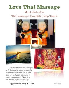 #thaimassage #massage #massageinfortlauderdale Body And Soul, Mind Body Soul, Vacation List, Thai Massage, Stress Management, Ancient Art, Take Care Of Yourself, How To Become