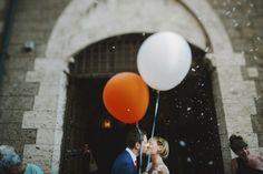 happy couple wedding photo by Italian wedding photographers Gianluca and Mary Adovasio | via junebugweddings.com
