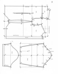 The best DIY projects & DIY ideas and tutorials: sewing, paper craft, DIY. DIY Women's Clothing : Shirt Cutting from the Einheitssystem - The Outfitter's Forum - The Cutter and Tailor -Read Mens Shirt Pattern, Pants Pattern, Shirt Patterns, Coat Patterns, Dress Patterns, Shirt Cutting Tutorial, Zipper Tutorial, Sewing Clothes, Diy Clothes
