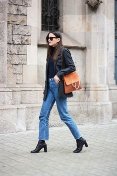 Blazer by Gestuz (Similar) // Jeans by Levi's // Boots by Senso (Similar) // Sweater by Wool Lovers // Bag by Chloe // ...