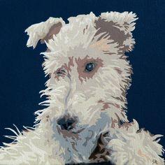 Wire Fox Terrier Painting  - Wire Fox Terrier Fine Art Print