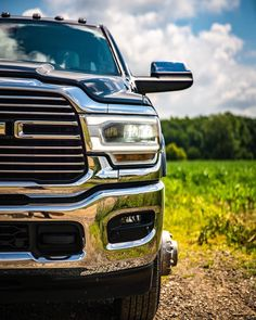 Getting ready for this week's challenge! 💪 by Auto Sales & Leasing Ram Trucks, Cummins, Cars For Sale, Challenges, Auto Sales, Vehicles, Fields, Live, Design