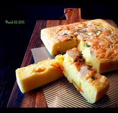 さわこ's dish photo パルメザンチーズとオレンジのケーキ‥ワンボウルで楽チン♬です(o^^o) #SnapDish #レシピ
