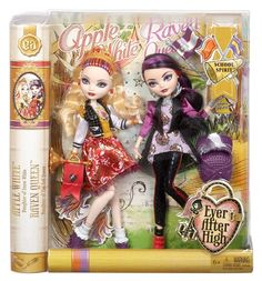 apple white and raven queen school spirit two pack
