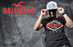 Publicidad de la marca Hollister Manejo de las herramientas photoshop and ilustrator