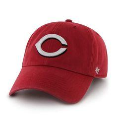 CINCINNATI REDS MLB BASEBALL RED CLEAN UP SLOUCH CROWN ADJUSTABLE HAT/CAP NEW