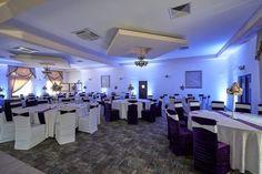 Lumini ambientale profesionale pentru decor de nuntă la Restaurant Casablanca  #luminiambientale #Casablanca #luminia_arhitecturale #nuntă Casablanca, Conference Room, Restaurant, Table, Furniture, Home Decor, Decoration Home, Room Decor, Diner Restaurant
