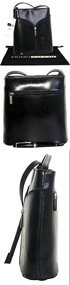 Vera Pelle Bags. Italian Leather Hand Made Smooth Small Black Cross Body or Shoulder Bag Handbag. Includes a Branded Protective Bag.  #vera #pelle #bags #verapelle #pellebags