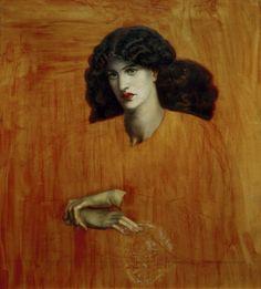 Titulo de la imágen Dante Gabriel Rossetti - D.G.Rossetti / La Donna della Finestra.