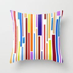 lines Throw Pillow by sladja - $20.00 My Design, Throw Pillows, Toss Pillows, Cushions, Decorative Pillows, Decor Pillows, Scatter Cushions