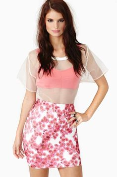 #nastygal.com             #Skirt                    #Atomic #Bloom #Skirt     Atomic Bloom Skirt                                  http://www.seapai.com/product.aspx?PID=1503749