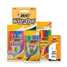 Free BIC Pencils White Out or Pens at Target/Walmart - http://ift.tt/2oMciwH