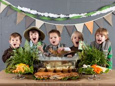 Prehistoric Dinosaur Birthday Party! - Kara's Party Ideas - The Place for All Things Party