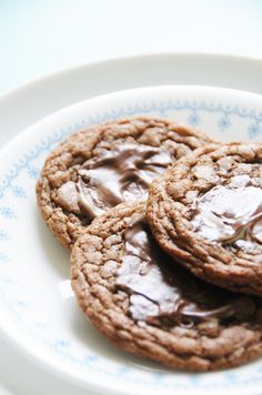 Andes Mint Chocolate Cookies: I will be making these this weekend -- soooo good and minty!
