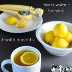 Daily Detox: Warm Lemon Water with Turmeric